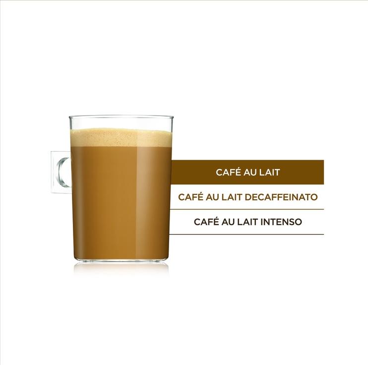 Kohvikapslid Nescafe Dolce Gusto Cafe Au Lait 160 g, 16 tk.