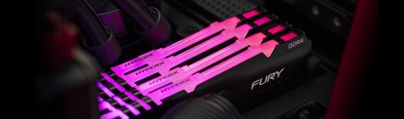 Kingston HyperX Fury RGB 16GB 3466MHz CL16 DDR4 KIT OF 2 HX434C16FB3AK2/16