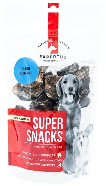 Expertus Super Snacks Lamb Lungs 100g
