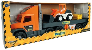 Wader Super Tech Truck Tow Truck with Loader 36720