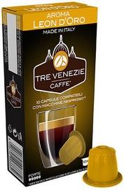 Cafee Tre Venezie Leon D'Oro komposteeritavad kohvikapslid, 10 kapslit