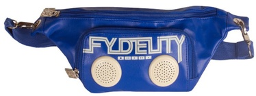 Fydelity Namesnake Bump Small Bag with Speakers Blue