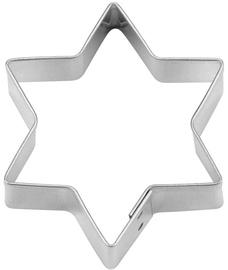 "Kaiser Gingerbread/Cookie Form M ""Star, 6-corner"" 6cm"