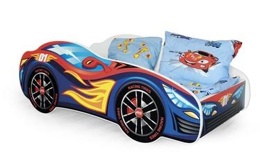 Детская кровать Halmar Speed Multicolored, 151x75 см