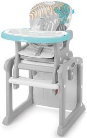Laste söögitool Baby Design Candy Turquoise