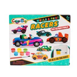 Mängu loominguline komplekt Mould and Paint Racers 8507