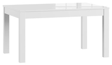Söögilaud Szynaka Meble Jowisz White, 1360x900x760 mm