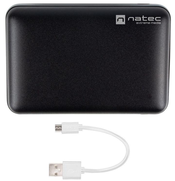 Внешний аккумулятор Natec Extreme Media Compact Black, 10000 мАч