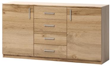 Комод WIPMEB Tatris 04 Wotan Oak, 160x40x80 см