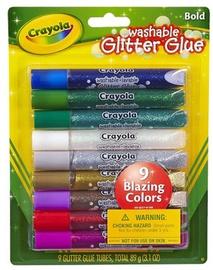 Crayola Washable Glitter Glue Bold 9pcs
