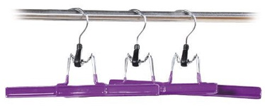 Kesper Trouser Holder 26cm Violet 3pcs
