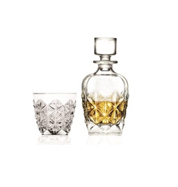 Kristallist viski komplekt  7 osa