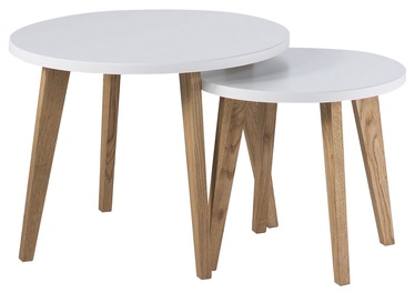 Szynaka Meble Pegaz 01 Table White 2pcs
