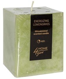 Home4you Candle Energizing Lemongrass 7.5x7.5xH10