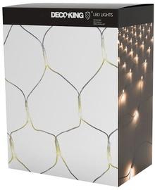 Электрическая гирлянда DecoKing LED Grid, теплый белый, 1x2 м