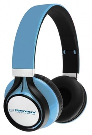 Esperanza EH159 Freestyle Audio Stereo Headphones Blue