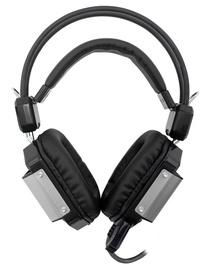 Kõrvaklapid White Shark Jaguar GH-1646 Black/Silver