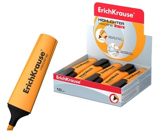 ErichKrause Visioline Highlighter V-12 10pcs Orange