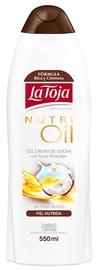 La Toja Shower Gel 550ml Nutri Oil