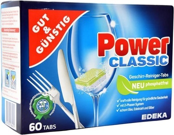 Edeka Power Classic Dishwasher Tablets 60pcs