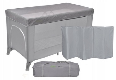 EcoToys Travel Cot with Mosquito Nets