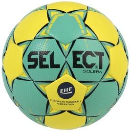 Select Solera Junior EHF 2018 Green/Yellow Size 2