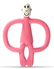 Matchstick Monkey Teether Monkey 3m+ Pink