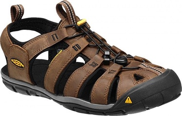 Keen Clearwater CNX Leather Black/Brown 45