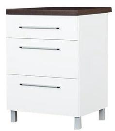 Bodzio Loara Bottom Cabinet 60DS White