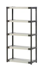 Grosfillex Storage Shelf Workline XL90 90x39x175cm