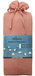 Ardenza Jersey Fitted Sheet 90-100x200cm Pink