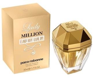 Paco Rabanne Lady Million Eau My Gold 50ml EDT