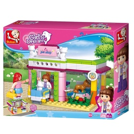 Konstruktor Sluban Girl's Dream Animal Shop M38-B0602