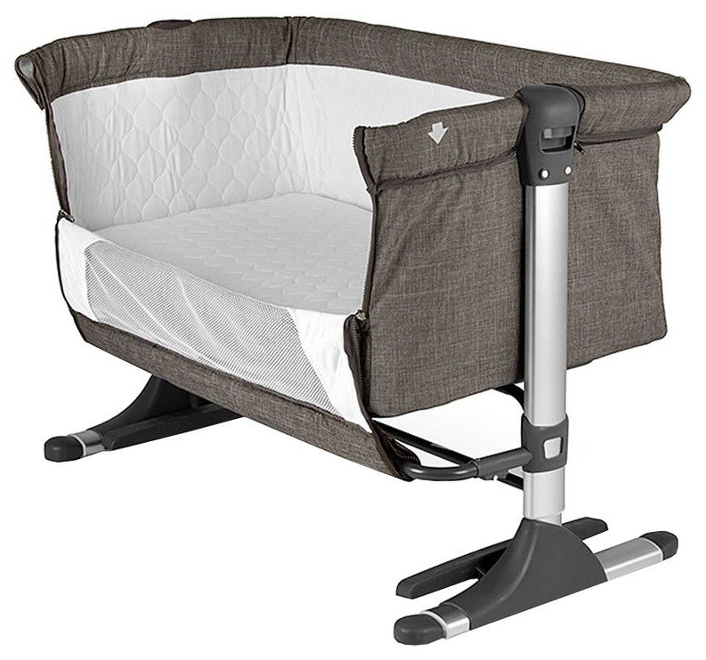 Milly Mally Side By Side Sleeping Crib Navy