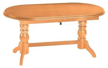 Обеденный стол Signal Meble Classic Daniel, ольха, 1200x700x620мм