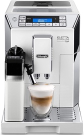 Delonghi Coffee Machine Eletta Cappuccino ECAM 45.766 White
