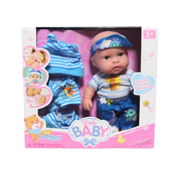 Nukk Dream Collection Little Baby With Accessories 17.5cm
