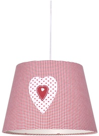 Candellux Sweet 2 60W E27 Hanging Ceiling Lamp Pink