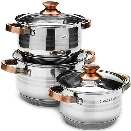 Mayer&Boch Pot Set 3pcs 24952