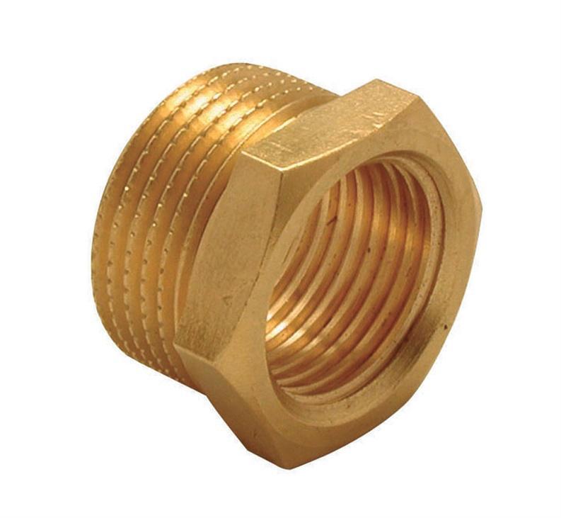"""TDM Brass 600.58/114 Adapter V/I 1/2""""x1/4"""""""