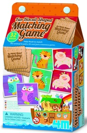Lauamäng 4M Fun Biscuit Shaped Matching Game Noah's Ark 04644, EN
