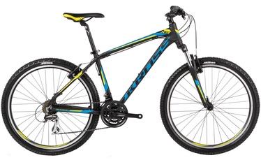 """Jalgratas Kross Hexagon X3 L 26"""" Black Blue Green Matte 17"""