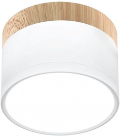 Candellux Tube Downlight 9W LED 4000K White /Wood