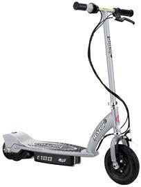 Razor E 100 Electric Scooter Silver 13181112