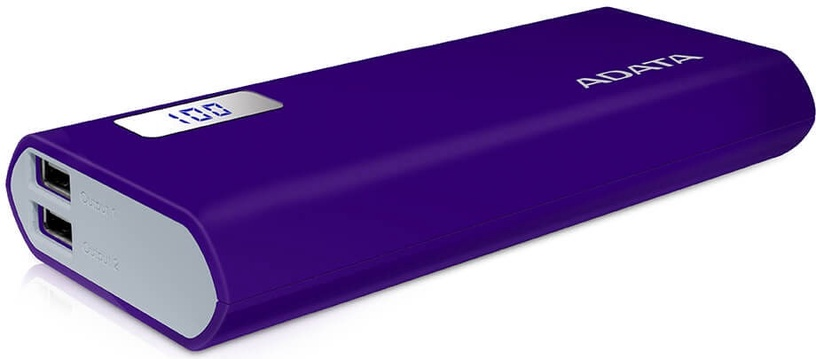ADATA P12500D Power Bank 12500mAh Purple