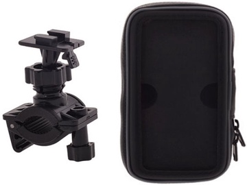 Telefonihoidja HQ B-03 Universal Bike Holder With Waterproof Zipper Case