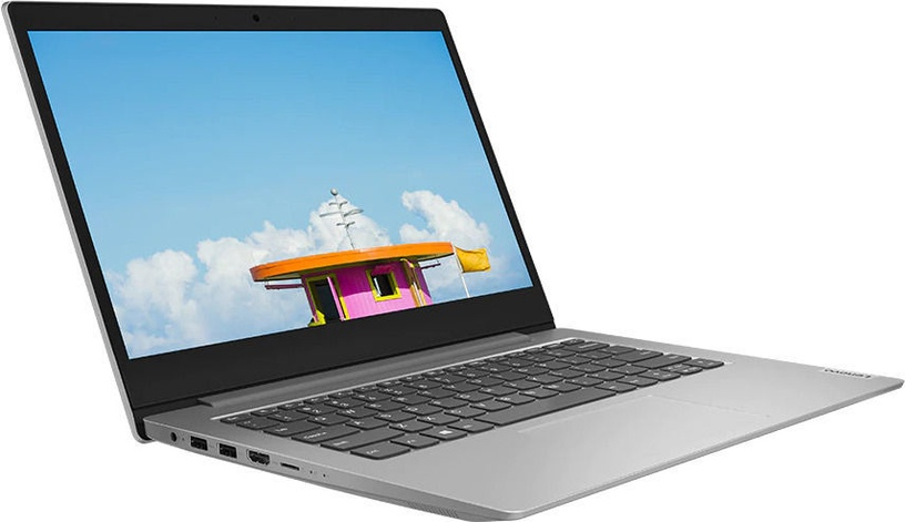"Sülearvuti Lenovo IdeaPad 1-14 Silver 82GW0044PB PL AMD Athlon, 4GB/128GB, 14"""