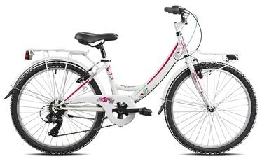 """Jalgratas Esperia, valge, 24"""""""