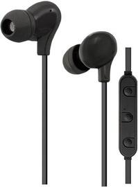 Qoltec Bluetooth Earphones w/Mic Black 50821