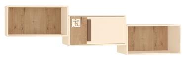 DaVita Fristail 56.07 Hanging Shelf Bunratti Oak/Cream
